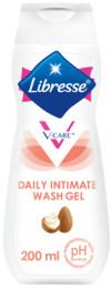 Libresse V-Care intimsvask Shea Butter og mandelekstrakt 200 ml