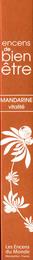 Encens Mandarin Røgelsepinde Aromabianche 30 stk