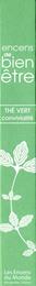 Encens Green Tea Røgelsepinde Aromabianche 30 stk