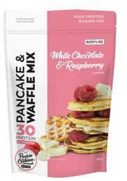BodyLab Pancake & Waffle Mix White Chocolate Raspberry 500 g