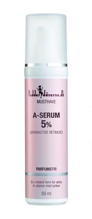 Pudderdåserne.dk A-Serum 5% 50 ml