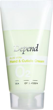 Depend O2 Aloe Vera Hand & Cuticle Creme 20 ml