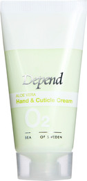 Depend O2 Aloe Vera Hand & Cuticle Creme 20 ml