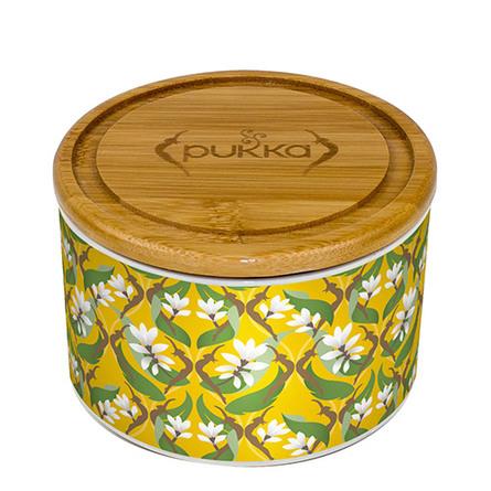 Pukka Keramik-Krukke – Turmeric Gold 10 breve