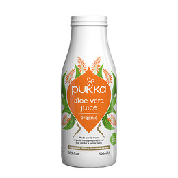 Aloe vera juice Ø Pukka Koldpresset - ikk 500 ml