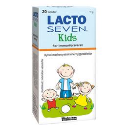 Vitabalans Oy Lacto Seven Kids 20 tab