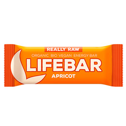 NatureSource Lifebar Abrikos Øko Raw 47 g