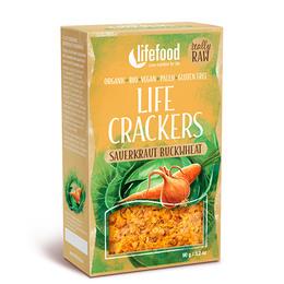 NatureSource Life Crackers m. Sauerkraut & Boghvede 90 g