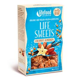 NatureSource Life Crackers m. Kokos & Mandel RAW 90 g