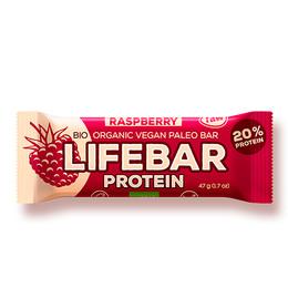 NatureSource Lifebar Hindbær Øko RAW 47 g