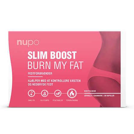 Nupo Slim Boost Burn My Fat 30 kapsler