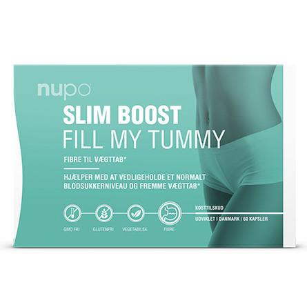 Nupo Slim Boost Fill My Tummy 60 kapsler