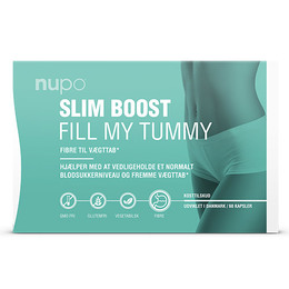 Nupo Slim Boost Fill My Tummy 60 kapsler
