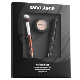 Sandstone Mascara/Highlighter Gaveæske