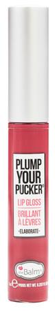 The Balm Lip Gloss Plump Your Pucker - Elaborate