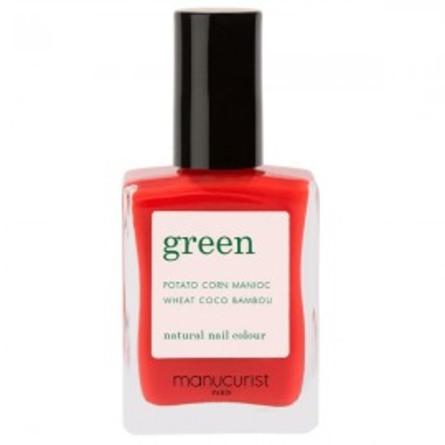 Green Manucurist Neglelak 31002 Red Coral