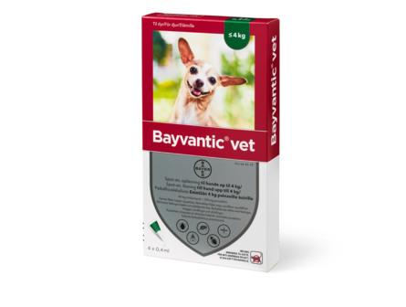 Bayvantic Vet til hunde op til 4 kg