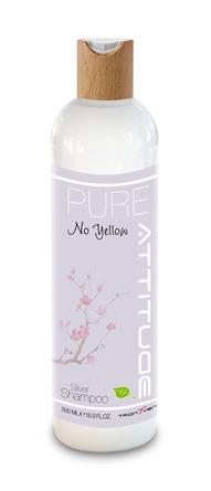 Attitude Pure No Yellow Shampoo 500 ml