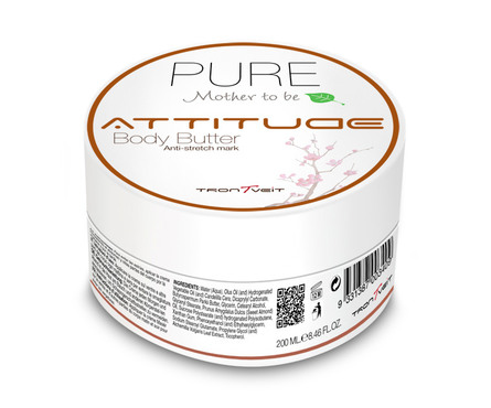 Attitude Pure Mother to be Sensitive Body Butter 200 ml