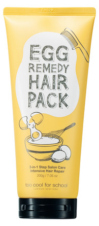 Too Cool For School Egg Remedy Hair Pack 200 ml