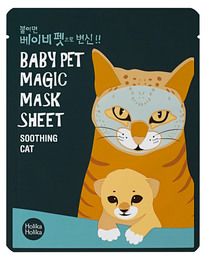 Holika Holika Baby Pet Magic Mask Sheet (Cat) 22 ml