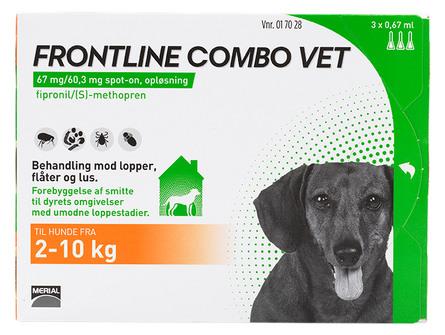Frontline Combo Vet. 2-10 kg 3 x 0,67 ml
