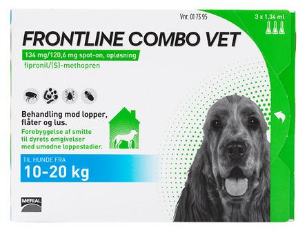 Frontline Combo Vet. 10-20 kg 3 x 1,34 ml