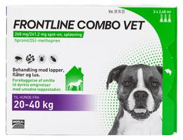 Frontline Combo Vet. 20-40 kg 3 x 2,68 ml