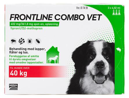 Frontline Combo Vet. 40-60 kg 3 x 4,02 ml