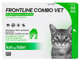 Frontline Combo Vet. Kat 6 x 0,5 ml