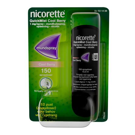 Nicorette® QuickMist Cool Berry 1 mg 1 stk
