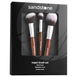 Sandstone Vegan Brush Set Gaveæske