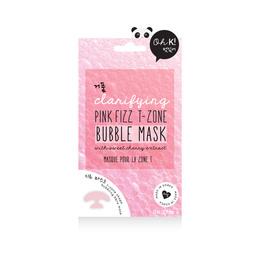 Oh K! Pink Fizz T-Zone Bubble Mask 23 ml