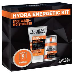 L'Oréal Paris Men Hydra Energetic Gaveæske