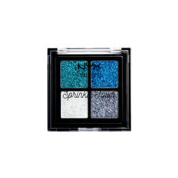 NYX PROFESSIONAL MAKEUP Sprinkle Town Cream Glitter Palette Peppermint