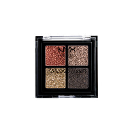 NYX PROFESSIONAL MAKEUP Sprinkle Town Cream Glitter Palette Chocolate
