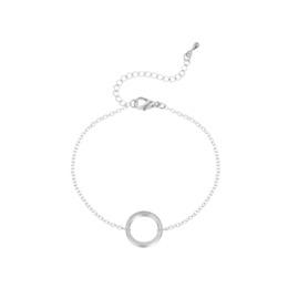 Everneed Kia Cirkel Armbånd Sølv