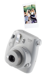 Instax Mini9 Analogt Instant Kamera Smokey White