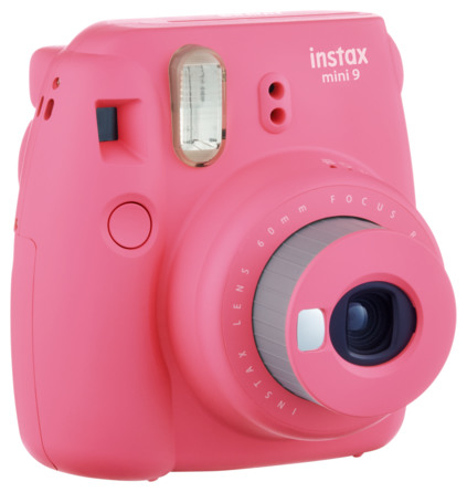 Instax Mini9 Analogt Instant Kamera Flamingo Pink