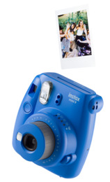 Instax Mini9 Analogt Instant Kamera Cobal Blue