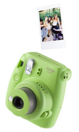 Instax Mini9 Analogt Instant Kamera Lime Green