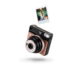 Instax SQ6 Analogt Instant Kamera Blush Gold