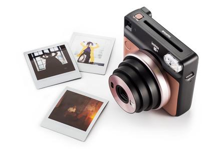 Instax SQ6 Analogt Instant Kamera Blush Gold