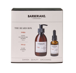 Barberians cph Beard Box Shampoo+ Beard Oil
