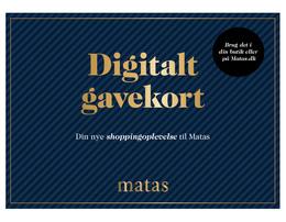 Matas Digitalt Gavekort 250 kroner