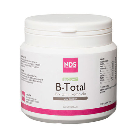 B-Total Vitamin 250 tab