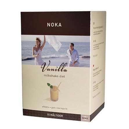 Milkshake vanilje Noka diæt Til 15 måltide 525 g