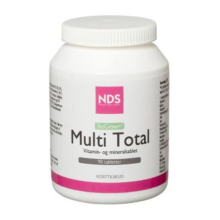 Multi Total multivitamin og mineral 90 tab