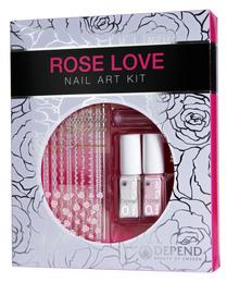 Depend O2 Rose Love Nail Art Kit