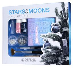 Depend O2 Stars & Moons Nail Art Kit